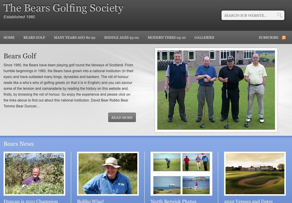 The Bears Golfing Society